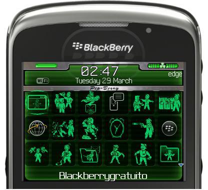 41 temas gratis para tu BlackBerry Curve.