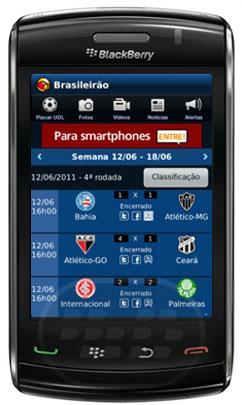 UOL, el portal líder de Internet en Brasil, UOL lanza aplicación Puntuación Football for BlackBerry.Estado, Brasileirão, la Copa de Brasil, Copa Libertadores, italiano, español, francés, jugó los campeonatos más mundo un grifo en su teléfono. La puntuación de la oferta lleva a los juegos de UOL oferta equipo, y eventos importantes. La aplicación reúne la mesa, la clasificación, así como videos y discos relacionados con las rondas. Ahora se pueden seguir las últimas noticias de fútbol o elegir sólo la información de su equipo. Seleccione la lista de juegos de un club específico también es posible. Otra nueva aplicación es