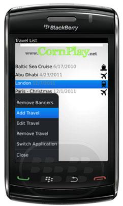 """Turismo es administrador de la lista de embalaje para su BlackBerry. ¿Cómo Tourist puede ayudar? – Cada elemento de la lista de embalaje tiene un estado: """"para lavar / preparar"""", """"comprar"""", """"ya en la maleta"""", """"no ha decidido aún"""", etc – Cada elemento puede tener accesorios. Por ejemplo, accesorios de la cámara son cargador, batería, tarjeta de memoria. – Los turistas pueden mostrar no sólo los artículos empacados– Crear una lista de compras de la lista de equipaje: sólo filtrar sólo """"comprar"""" artículos– Cuando el viaje es largo, puede volver a utilizar la lista para asegurarse de que no se"""