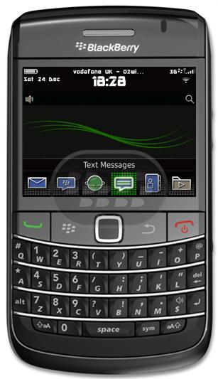 un tema inspirado en BlackBerry 9981 Porsche *Iconos Oficiales de BlackBerry 9981* OS6 Paneles Deslizantes* Lo más cerca que puede llegar a 9981 Compatibilidad BlackBerry OS 6.0 o Superior BlackBerry: Bold 9650, Bold 9700, Bold 9780, Bold 9788, Curve 9300 3G, Curve 9330 3G, Pearl 9100 3G, Pearl 9105 3G, Style 9670, Torch 9800 Descarga OTA (requiere inicio de sesion para descargar el tema) Fuente:blackberrygratuito