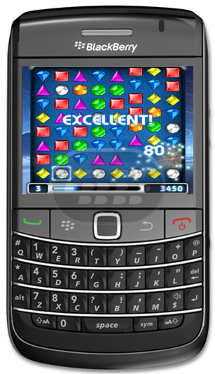 Tratar de jugar gratis! Este es un juego de prueba, que te permite jugar el juego una vez durante 4 minutos. El clásico juego de intercambio de juego de rompecabezas Bejeweled ® llega a los móviles con gráficos mejorados y más divertido que nunca. Encadenar tres o más gemas para acumular puntos en una caza del tesoro de ritmo rápido. Avanza a través de los niveles normales en modo de jugador único o correr contra el reloj en el modo cronometrado. Es un tesoro de la diversión móvil! Compatibilidad BlackBerry OS 4.5 o Superior BlackBerry 8310,8520,8900,9000,9105,9300,9500,9520,9530,9700,9780,9800 Descarga APPWORLD Fuente:blackberrygratuito
