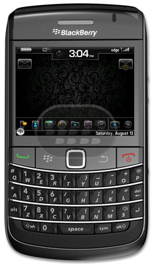 Originalmente viene sin fondo, preparado para wallpapers (wallpaper friendly) Caracteristicas:– 9 de usuario iconos seleccionables (abajo) en un muelle oculto– 2 iconos seleccionables por el usuario (Arriba)– Hoy ocultos con 5 elementos– Puntos de acceso para el reloj, y Batterry metter señal – Accesos: Barra espaciadora lanza QuickLaunch$ Lanza SMS / MMS@ Lanza mensajes! lanza BBM+ Lanza la calculadora BlackBerry 8900/9630/9650/9700 OS 5.0 3- OS6 Icons version with Hidden Today Descarga OTA 4- OS6 Icons version, No Hidden Today Descarga OTA 5- OS6 Icons, No Hidden Today, No OCD slots Descarga OTA 6- OS6 Icons, Hidden Today, No OCD Slots