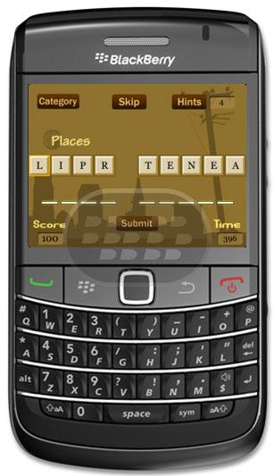Reorganizar las palabras mezcladas en este juego clásico. Con varias categorías para elegir, puedes desafiar a su vocabulario. Ordena las palabras para ganar más puntos! Puede utilizar la opción de sugerencia en caso de que usted está atascado, pero es mejor usarlo con prudencia, porque sólo se han limitado consejos en función de la longitud de la palabra revueltos! Compatibilidad BlackBerry OS 4.6 o Superior BlackBerry 85xx, 89xx, 9000, 91xx, 93xx, 95xx, 96xx, 97xx, 9800, 99xx Descarga APPWORLD Fuente:blackberrygratuito
