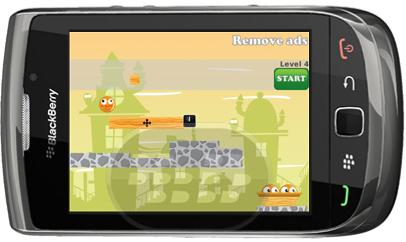 Ayuda naranja feliz, a escapar de misterioso laberinto, en sus diferentes niveles. el juego consiste en colocar troncos de madera entre otros, para que la naranja encuentre su camino utilizando la gravedad, hacia donde sus otros compañeros. Compatibilidad BlackBerry OS 5.0 o Superior BlackBerry 85xx, 89xx, 9000, 93xx, 95xx, 96xx, 97xx, 9800, 99xx Descarga APPWORLD Fuente:blackberrygratuito
