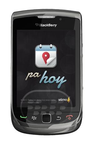 PaHoy te mantiene actualizado de las actividades en las distintas categorías que están pasando en Santo Domingo. La aplicación de redes sociales se han integrado, como Facebook y BBM6. Esta aplicación está continuamente se actualiza con la información más reciente de las discotecas prinicipal, clubes, teatros, bares de Santodomingo, darle una oportunidad y vamos a saber lo que piensa al respecto. Compatibilidad BlackBerry OS 5.0 o Superior BlackBerry 8520, 8530, 9100, 9105, 9300, 9330, 9700, 9780, 9788, 9800, 9810 Descarga APPWORLD Fuente:blackberrygratuito