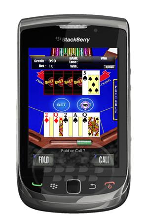 """Caribbean Poker es el estándar de """"Five-Card Stud Poker"""" con un pequeño giro: una de las cartas del crupier siempre se muestra. Los jugadores compiten contra la banca, en lugar de otros jugadores. El objetivo del juego es superar la mano del dealer o distribuidor Compatibilidad BlackBerry OS 5.0 o Superior BlackBerry 9500, 9520, 9530 , 9550, 9800 Descarga APPWORLD Fuente:blackberrygratuito"""