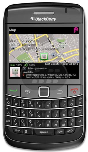 Ahora usted puede activar su teléfono para estar en Contacto Real con tus amigos BBM. Sólo tienes que configurar los ajustes de privacidad en la aplicación para compartir su ubicación, disponibilidad, nivel de batería y nivel de señal Con cada contacto BBM. Nunca pierda su amigo de nuevo en un concierto o un split en un centro comercial. Se reúnen de nuevo con sólo comprobar la pantalla del teléfono. Deja que tu BlackBerry ® le avise cada vez que se acerca a los 400 metros / un cuarto de milla de un contacto de BBM. RealContact mejora las posibilidades de