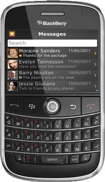 Pinch es una aplicación ultra-rápida de mensajería con funciones basadas en la localización de redes sociales móviles. Es libre de utilizar para que pueda ahorrar en SMS / MMS y los cargos que funciona entre el iPhone ™ / iPad ™ / iPod Touch ™, Android ™, BlackBerry, Nokia ® ™ / Symbian y Windows Phone 7. Si usted está usando actualmente uno de los smartphone más arriba, puede ponerse en contacto con sus amigos y familiares de forma gratuita. BlackBerry: Bold 9000, Bold 9650, Bold 9700, Bold 9780, Curve 8330, Curve 8350i, Curve 8520, Curve 8530, Curve 8900, Curve