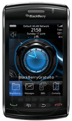 Desktop Clock: es una aplicació que muestra un reloj personalizado en tiempo real en la pantalla principal de BlackBerry como fondo de pantalla. El reloj de escritorio muestra el tiempo real con las manos en movimiento. Usted puede elegir entre diferentes relojes disponibles o descargar más relojes libres. Características:1. Reloj en tiempo real en la pantalla principal2. La pantalla del reloj de escritorio mientras se está cargando3. Reloj automático cambio después de tiempo de retardo definido por el usuario4. Mezclar los relojes de los relojes seleccionados5. Descargar más relojes gratis Compatibilidad BlackBerry OS 4.6 o Superior BlackBerry 85xx, 89xx, 9000,