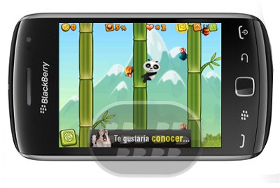 Lost Panda: es un juego en donde tiene que ayudar al panda en esa búsqueda arriesgada. Recoge las monedas, mejora tus habilidades, matar a los enemigos, pasar los niveles y, finalmente, se encuentra el bebé. Ella todavía está esperando su ayuda. Traiga la felicidad en el bosque. Descripción del juego:– 3 lugares diferentes de juego: Bambú, Desierto, Nieve– 6 bonos especiales: Escudo, Congelación, Terremoto, Stone Fire, Anillos, corazón– 2 habilidades: Sprint, Salta Muerte– 3 tipos de enemigos: Aves, avispas, escarabajos– Juego de tienda para actualizar sus habilidades– El juego práctico– ABonito arreglo musical Compatibilidad BlackBerry OS 4.6 o Superior BlackBerry