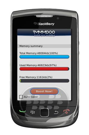 """Mega Memory Free: Es una aplicación muy inteligente automáticamente poder gestionar y mejorar la memoria de su teléfono BlackBerry. Estudio de caso: Si siente que el teléfono funciona con lentitud? Necesidad de limpiar la memoria, tal vez hay algún hilo no está comiendo su uso device'smemory, entonces usted debe utilizar """"Mega Memory """"! Características:1. Muy inteligente, marque la opción """"Auto clean"""", entonces automáticamente se limpia la memoria del teléfono en cada 24h.2. Un clic para limpiar, muy conveniente!3. Demuestra que utiliza la memoria, la memoria total, la memoria libre información.3. Friendly, en cualquier momento, cuando sientas que tu dispositivo es"""