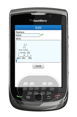 Quick Text : es una aplicación que le permite insertar emoticonos texto en correo electrónico, SMS, BBM etc.  Por ejemplo: plane! __ / __ `== / ==` ____________ / __ ____________ / ____________________________ __ | | __ | | __/.– __ |. | __ | | __ / __ | ___ | ___ () ___ | ___ | __ _ / `-` _ (/ —— ) 1) Para el mantenimiento de la firma de mensajes de correo electrónico 2) Habla plantillas, imágenes de texto ASCII para el chat 3) Información de contacto para facilitar el acceso 4) Otra información