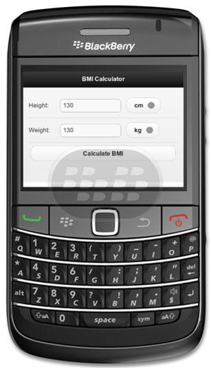 BMI Calculator: es una aplicación que calcula el Índice de Masa Corporal (IMC). El IMC es una medida de la grasa corporal en relación a su peso y altura. Compatibilidad BlackBerry OS 6.0 o Superior BlackBerry 92xx, 93xx, 96xx, 97xx, 98xx, 99xx Descarga APPWORLD Fuente:blackberrygratuito