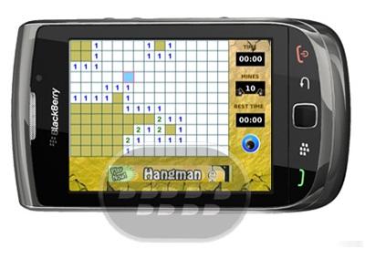 Minesweeper Classic: es un juego de buscaminas donde usted tiene que buscar todas las minas tan rápido como sea posible sin descubrir ninguno de ellos. El juego se pierde cuando se descubren las minas. Descubra una ficha haciendo clic sobre ella. Los números bajo el azulejo indicar el número de minas alrededor. Puede marcar el azulejo para descubrir más tarde. Un juego adictivo que puede mantenerte ocupado durante horas! Compatibilidad BlackBerry OS 4.5 o Superior BlackBerry 85xx, 89xx, 9000, 92xx, 93xx, 96xx, 97xx, 98xx, 99xx Descarga APPWORLD Fuente:blackberrygratuito