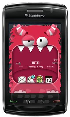 Mouth Monster: es un tema animado de un monstruo divertido con la boca grande. Características: 1. Diseño único y tecnología SVG, deslice hacia arriba y abajo de la tecla de navegación, a continuación, observe la boca del monstruo;2. Doodle y el icono de estilo de dibujo, muy lindo;3. Soporta todos los populares dispositivos, incluye la última OS7.4. Creativos de animación SVG Compatibilidad BlackBerry OS 4.6 o Superior BlackBerry 85xx, 89xx, 9000, 91xx, 93xx, 95xx, 96xx, 97xx, 98xx, 99xx Descarga APPWORLD Fuente:blackberrygratuito