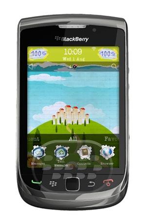 Paper Art Theme: es un tema de papel muy bonito con colores verdes muy llamativo. Características: * Consigue 5 cambios de fondo diferente en la pantalla principal, mientras que cambiar el enfoque de los iconos. * Los coloridos iconos personalizados. * Hermosa metros de la batería a medida abstracta. * Metros de la señal personalizada abstracto. * Diferentes cómicas sabios de pantalla-fondos que se ajusten a ese tema. Compatibilidad BlackBerry OS 5.0 / 6.0 BlackBerry 8350i , 85xx, 8900, 9000, 9300, 9500, 9520, 9530, 9550, 9630, 9700, 9800 Descarga APPWORLD Fuente:blackberrygratuito