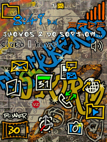 Blackberrygratuito com images graffiti 20theme 20bb 20theme 20 2