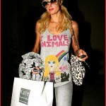 Paris Hilton Goes Shopping With Her Whiteberry