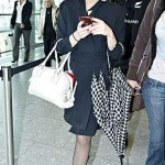 Lady Gaga Catching A Flight At Heathrow Airport (USA AND OZ ONLY