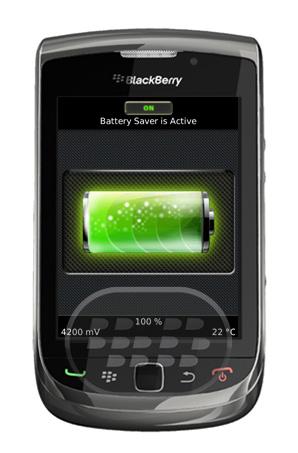 Battery Booster: es una aplicación que ayuda a aumentar la duración de la batería. Battery Booster funciona en segundo plano y optimiza la batería de su dispositivo en silencio. Todo lo que necesitas hacer es hacer clic en 'On / Off' en la aplicación, y activar la aplicación, la aplicación detectará automáticamente los procesos que la descarga de la batería y optimizar la duración de la batería. Compatibilidad BlackBerry OS 5.0 o Superior BlackBerry 85xx, 89xx, 9000, 91xx, 92xx, 93xx, 95xx, 96xx, 97xx, 98xx, 99xx Descarga APPWORLD Fuente:blackberrygratuito