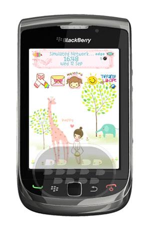Happy Girl Theme: es un tema femenino que le brinda una experiencia personalizada. -Temas en OS7 se encuentran actualmente en Beta, por lo que los algunos problemas encontrados se corregirá rápidamente a través de las actualizaciones.-Las pantallas de llamada en OS7 temas son los predeterminados La mayoria de los elementos como, la señal, iconos, medidor de bateria, fuentes, mensajes, entre otros han sido personalizados. Compatibilidad BlackBerry OS 5.0 o superior BlackBerry 85xx, 8900, 9000, 91xx, 9300, 9330, 95xx, 9630, 9650, 9670, 9700, 9780, 9788, 9800, 9900, 9930. Descarga APPWORLD Fuente:blackberrygratuito