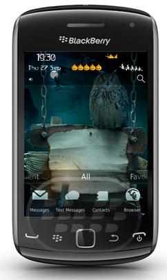 Spooky Halloween: es un tema de miedo, conmemorativo a las fiestas de halloween Características* Completa tema personalizado para darle un aspecto impresionante a su BlackBerry* Medidor de batería personalizado y medidor de señal.* Los iconos modificados para requisitos establecidos* Fondos diferentes con orígenes conceptuales relacionados diseñados Compatibilidad BlackBerry OS 4.6, 5.0, 6.0, 7.0 BlackBerry 85xx, 9220, 9300, 9310, 9300, 9350, 9360, 9370, 9380, 9630, 9650, 9700, 9790, 98xx, 99xx Descarga APPWORLD Fuente:blackberrygratuito