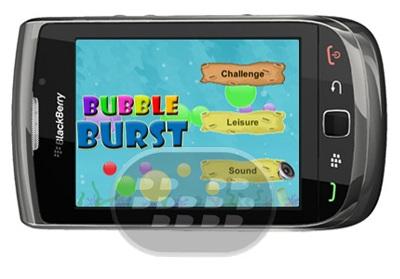 Bubble Burst: es un juego sencillo para niños que consiste en reventar burbujas Todo lo que necesitas hacer es hacer estallar las burbujas que aparecen. Tenga cuidado de evitar a los peces!Cuantas más burbujas hacen estallar la mayor puntuación tendrás. Tienes un montón de diversión y al mismo tiempo mejorar tus reflejos! Características:* Juega con 2 modos – juicio relajado y hora* Equipado con múltiples niveles y decenas de juegos en cada nivel.* Cada nivel es más difícil que el anterior.* Desbloquear desafíos sorpresa y puntos extra mientras juegas Compatibilidad BlackBerry OS 5.0 o Superior BlackBerry 9800, 9810, 9850, 9860,