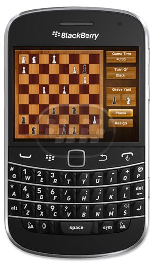 El ajedrez es un juego de mesa para dos personas que simula una batalla entre dos armies. ahora usted puede jugar al ajedrez en tiempo real con su BBM amigos conectados en cualquier lugar del mundo. Características: 1. Desafíe a su amigo a través de BBM2. Le permite jugar a su vez basado en juego con un amigo con el teléfono único.3. En chat en tiempo real de juego de modo que usted está siempre conectado a su amigo.4. Tiempo limitado vuelve a rascarse la cabeza tan rápido como sea posible. Compatibilidad BlackBerry OS 5.0 o Superior BlackBerry 85xx, 89xx,