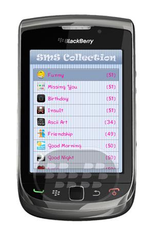 Message SMS Collection: es una aplicación que contiene muchos mensajes en inglés, puede enviar mensajes sms / a sus amigos, colegas, familiares, miembros de la familia a través de SMS Collection SMS Collection le ofrece más de 700 mensajes de diferentes categorías como: Amistad, Funny, Buenos días, Buenas Noches, Feliz Cumpleaños, Love, Feliz Aniversario, Insultos, ASCII, y muchos más SMS tiene varias ventajas. Es más discreto que una conversación telefónica, por lo que es la forma ideal para comunicarse cuando no desea ser molestado. SMS es menos tiempo en comparación a realizar una llamada telefónica. Un SMS es una forma