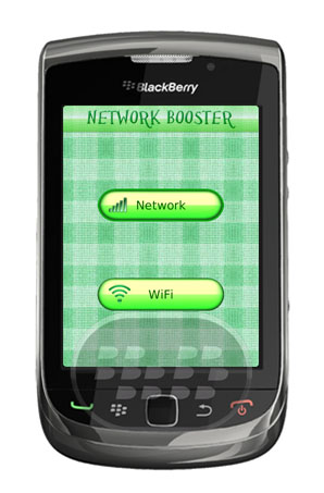 """Network Signal Booster: es una aplicación que le ayuda a aumentar la intensidad de la señal con un solo clic. Esta aplicación le ayudará cuando su red móvil / señales de bajar. Usted puede aumentar su señal WiFi, así como con la ayuda de la """"Red Booster"""". Esta aplicación es funciona tanto para redes """"Wi-Fi Signal"""" y """"Señal Mobile"""" 1. Sólo tiene que abrir la aplicación.2. Pulse el botón """"Wi-Fi"""" o """"red"""" para aumentar la fuerza de la señal.3. Se mostrará el porcentaje de mejora en su pantalla.4. No reinicio del dispositivo necesario. Compatibilidad BlackBerry OS 5.0 o Superior BlackBerry"""