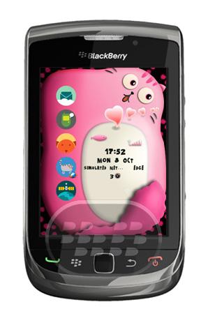 Pink Lazy Cat Free: Es un tema de dibujo animado, esta versión gratuita contiene sólo cinco iconos son de estilo de dibujos animados. Características:1. El volumen de la batería está diseñada como 5 corazones del amor en la parte superior izquierda;2. Muelle oculto, mover el foco en el icono de perfil, el muelle de fondo se oculta,3. Palitos de icono de la moda, que es creativo y hacer el tema más perfecto! Compatibilidad BlackBerry OS 4.6 o Superior BlackBerry 85xx, 89xx, 9000, 91xx, 9220, 93xx, 95xx, 96xx, 97xx, 98xx, 99xx Descarga APPWORLD Fuente:blackberrygratuito