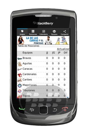 Polar Ice Béisbol es una aplicación que le trae los resultados de los partidos de la temporada de béisbol venezolano. Características: * Fechas de la temporada 2012 – 2013* Nuevo diseño como BlackBerry 10* Integración directa con Twitter* Posibilidad de seleccionar tu equipo favorito* Desde la pantalla principal tienes los juegos de hoy en día, los juegos de entonces y futuros* Actualizaciones en vivo* Minuto a Minuto de los encuentros Compatibilidad BlackBerry OS 4.5 o Superior BlackBerry 85xx, 89xx, 9000, 91xx, 93xx, 95xx, 96xx, 97xx, 98xx, 99xx Descarga APPWORLD Fuente:blackberrygratuito