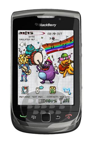 Doodle Monster Band: es un tema caricaturezco gratuito promocional, escriba un buen comentario en App World. y recibe númerosos beneficios. Características:1. Un conjunto completo de iconos de estilo del doodle;2. Mano dibujar fuentes de estilo;3. Idea única, inspirada en la película de monstruos lindo;4. Diseño Premium y optimizado muy bien, hacer que su sistema se desempeñan mejor! Compatibilidad BlackBerry OS 4.5 o Superior BlackBerry 82xx, 82xx, 83xx, 85xx, 89xx, 9000, 91xx, 9220, 93xx, 95xx, 96xx, 97xx, 98xx, 99xx Descarga APPWORLD Fuente:blackberrygratuito
