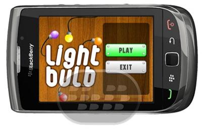 Light Bulbs: es uno de los juegos más populares de luces. Todo lo que necesitas es conectar bombillas de colores similares en la parrilla.Consigue estrellas en cada juego. Múltiples niveles y juegos múltiples dentro de cada nivel – suficiente para mantenerte ocupado cuando estás aburrido! Características:* 4 niveles diferentes para elegir* Más de 20 juegos en cada nivel* Mantenga un registro de tiempo necesario para cada juego y sus mejores puntuaciones Compatibilidad BlackBerry OS 5.0 o Superior BlackBerry 85xx, 89xx, 9000, 9220, 93xx, 96xx, 97xx, 98xx, 99xx Descarga APPWORLD Fuente:blackberrygratuito