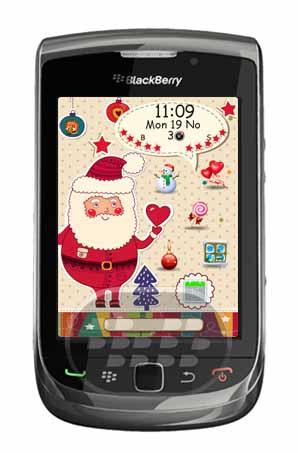 Este es un bonito tema de navidad para dispositivos BlackBerry. Características:* Tema completamente personalizado para darle un aspecto impresionante a su BlackBerry* Pantalla de Aplicación Impresionante* Medidor de batería personalizada* Medidor de señal personalizada* Hermosos iconos personalizados Set* Hermoso fondo de Navidad* Fuente hermosa que adecuado para el tema Compatibilidad BlackBerry OS 4.6 – 7.0 BlackBerry 8520, 8530, 9220, 9300, 9310, 9320, 9350, 9360, 9370, 9380, 9630, 9650, 9700, 9780, 9790, 9800, 9810, 9850, 9860, 9900, 9930, 9981 Descarga APPWORLD Fuente:blackberrygratuito