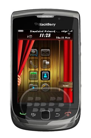 Peek Me U: es un tema sencillo pero con un homescreen o pantalla de inicio interactivo, que le permite mostrar y ocultar los inicios principales mediante una cortina roja. Para activar el tema después de descargar correctamente: Navegue a las opciones – tema – Seleccione el tema deseado y activar. Para desinstalar un tema por favor eliminarlo de la lista de aplicaciones. Compatibilidad BlackBerry OS 5.0 / 6.0 BlackBerry 8520, 8530, 8900, 9100, 9105, 9300, 9330, 9630, 9650, 9670, 9700, 9780, 9800 Descarga APPWORLD Fuente:blackberrygratuito