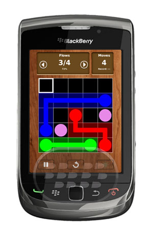 Flow_Connect_Lite_blackberry_game