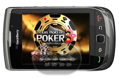 Poker Texas Hold'em 3 es el mejor juego de poker en el móvil! Ofrece diferentes modos de juego, carrer mode, practice area, lottery. Desafía a tus amigos para demostrar su supremacía. Prepárate para descartar la mesa y sus enemigos! Compatibilidad BlackBerry OS 4.5 o superior BlackBerry 8310, 8320, 8520, 8900, 9000, 9300, 9320, 9360, 9380, 9500, 9520, 9700, 9780, 9790, 9800, 9810, 9900 Descarga APPWORLD Fuente:blackberrygratuito