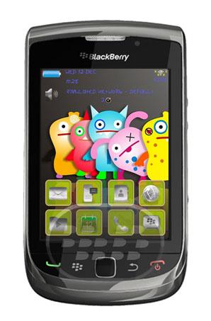 Cute Monsters: es un tema bonito de caricaturas, monstruos divertidos, presenta iconos de BlackBerry OS 6.0 en color gris, selección de menú verde claro y rosa en iconos. Compatibilidad BlackBerry OS 4.5 – 6.0 BlackBerry 83xx, 85xx, 88xx, 89xx, 9000, 91xx, 9300, 9330, 95xx, 9630, 9650, 9670, 9700, 9780, 9788, 9800 Descarga APPWORLD Fuente:blackberrygratuito