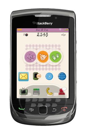 Adorable Bears: es un tema encantador con hermosos colores pastel y los iconos únicos. – Soporta todos los OS 7.1.0 y 5,6,7.0– Estilo limpio y amistodo con wallpapers– HD (High Definition) Antecedentes– Soporta modo landscape para dispositivos Torch– pantalla de llamada personalizada– Menor tamaño de archivo Compatibilidad BlackBerry OS 5.0 – 7.1 Superior BlackBerry 85xx, 89xx, 9000, 91xx, 9220, 93xx, 96xx, 97xx, 98xx, 99xx Descarga APPWORLD Fuente:blackberrygratuito