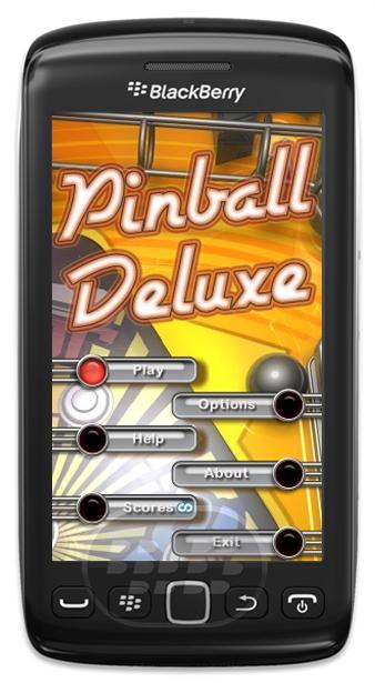 """Mobigloo LLC ha liberado una versión gratuita de Pinball Deluxe para dispositivos BlackBerry 9860. Disfruta de este bonito y llamativo juego, con fisica realista, mira alguna de sus características: Palmas, Parachoques, metas, en caso de vuelco, hondas, rampas, mini-juegos, Captura, Empujar / Tilt, etc … Física realista – Suave animación en más de 25 fps Desbloquear la mansión encantada y a jugar ! Acceda a la sección de Arcade y el juego """"Ataque de camiones"""" – Juega a la """"Casa de los Espejos"""", una mini-Pinball con controles inversa Sonidos y vibraciones – Disponible en 5 idiomas (Inglés, francés, italiano, alemán"""