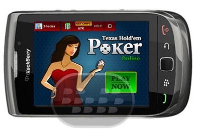Jugar una mano de Holdem Poker Stars online contra millones de jugadores reales con Online Poker Texas Hold'em. Experiencia VIP estilo de juego en línea contra jugadores de BlackBerry. Características de Texas Hold'em Poker Online: – Jugar Poker Texas Hold'em vivir con amigos y jugadores aleatorios– Juega a través de red móvil o Wi-Fi– Consigue gratis los bonos diarios Compatibilidad BlackBerry OS 6.0 o Superior BlackBerry 9220, 93xx, 9650, 97xx, 9800, 9810, 9850, 9860, 9900, 9930, 9981 Descarga APPWORLD Fuente:blackberrygratuito