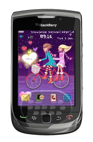 Valentine Love: Es un tema de amor con colores pastel azul y rosado. Características: – Soporta todos los OS 7.1.0 y 5,6,7.0– Clean Style y Wallpaper friendly– HD (High Definition) Antecedentes– Paisaje soporte para dispositivos Torch– Pantalla de llamada personalizado (* Sólo para OS 5 y 6)– Menor tamaño de archivo Compatibilidad BlackBerry OS 5.0 o Superior BlackBerry 85xx, 89xx, 9000, 91xx, 9220, 93xx, 96xx, 97xx, 98xx, 99xx Descarga APPWORLD Fuente:blackberrygratuito
