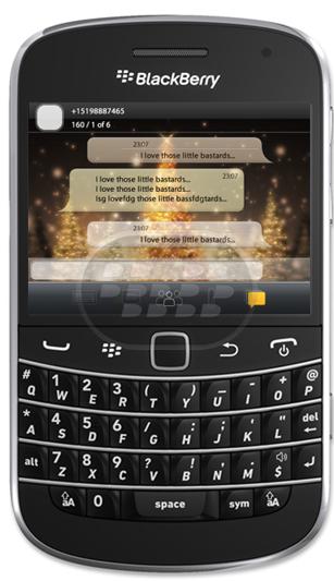 Viewer for BBM: es una aplicación que le permite ver sus mensajes de BlackBerry Messenger con un fondo de pantalla personalizado, que le proporciona un vista diferente. Compatibilidad BlackBerry OS 5.0 o Superior BlackBerry 85xx, 89xx, 9000, 91xx, 9220, 93xx, 95xx, 96xx, 97xx, 98xx, 99xx Descarga APPWORLD Fuente:blackberrygratuito
