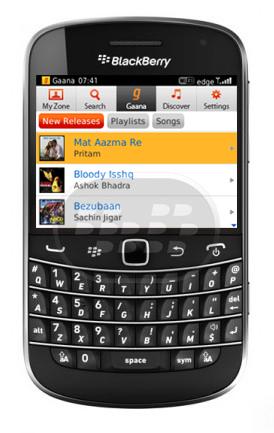 Gaana_blackberry_app_india