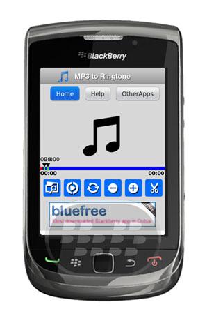 Mp3 to Ringtone: con esta aplicación usted podrá hacer tus propios tonos, convierte cualquier archivo MP3 en un tono Elija una sección del MP3 para convertir. Disfruta de las diferentes opciones, Auto Cut, selección, guardar en la carpeta de teléfono es muy fácil de usar. Compatibilidad BlackBerry OS 4.6 o Superior BlackBerry 85xx, 89xx, 9000, 91xx, 93xx, 95xx, 96xx, 97xx, 9800, 99xx Descarga BlackBerry World Fuente:blackberrygratuito
