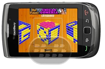 Si a usted le gusta resolver rompecabezas visuales, seguro le gustara este juego. Vuelva a colocar los azulejos en el tablero de juego con el modelo proporcionado. La captura – deslizar una ficha se moverá todas las fichas en esa fila o columna. Características – Carga interfaz fácil de usar e intuitivo Los patrones interesantes Múltiples niveles de dificultad y puzzles de más de 100 que lo mantendrán ocupado Compatibilidad BlackBerry OS 5.0 o Superior BlackBerry 85xx, 89xx, 9000, 9220, 93xx, 96xx, 97xx, 9800, 9850, 9860, 99xx, PlayBook Descarga BlackBerry World Fuente:blackberrygratuito