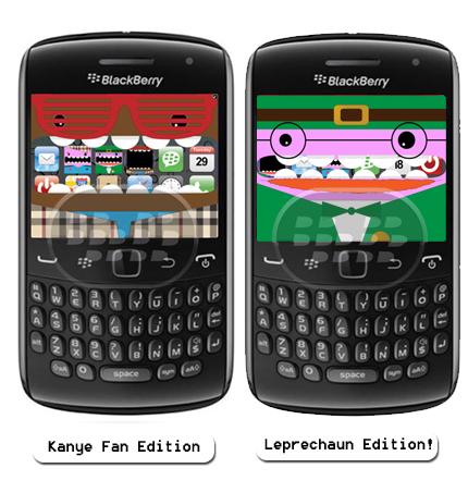 Screen Muncher: es un capturador de pantalla animado para dispositivos BlackBerry, en esta ocasión lanza 2 nuevas versiones: Kanye Fan Special Edition: En esta versión gratuita viene con 7 efectos de sonido al azar incluyendo: Back To Back, Doin' Pretty Good, Huh?, Make Me Hotter , New Kurt Cobain, Raise My Prestige, Yo. Special Edition Leprechaun (Día de San Patricio) Compatibilidad BlackBerry OS 5.0 o Superior BlackBerry 85xx, 89xx, 9000, 91xx, 9220, 93xx, 95xx, 96xx, 97xx, 98xx, 99xx Descarga BlackBerry World (Leprechaun Edition!) Descarga BlackBerry World (Kanye Fan Edition!) Fuente:blackberrygratuito