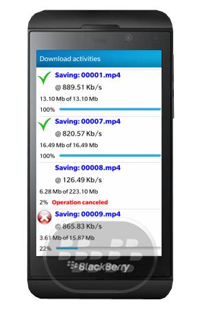 DownloadsManager_blackberryZ10_tuber_app