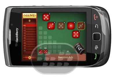 Farkle es uno de los juegos de dados más populares con el objetivo de obtener una puntuación más alta en 10 rondas. Tira los dados para ganar puntos grandes! Esa combinación de suerte podría ponerlo a la cabeza. Con la clasificación en línea usted tendrá horas y horas de diversión desafiando a los otros jugadore, debido a la clasificación en línea se vuelve tan emocionante para jugar el juego con tus amigos y ver quién está liderando ahora. Compatibilidad BlackBerry OS 4.6 o Superior BlackBerry 85xx, 89xx, 9000, 9220, 93xx, 95xx, 96xx, 97xx, 98xx, 99xx Descarga BlackBerry World Fuente:blackberrygratuito